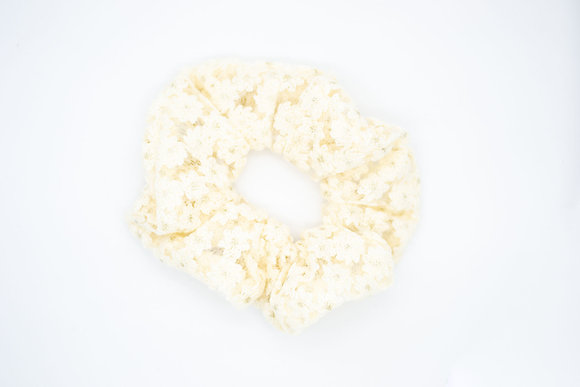 Kids Lace Scrunchie-nectar