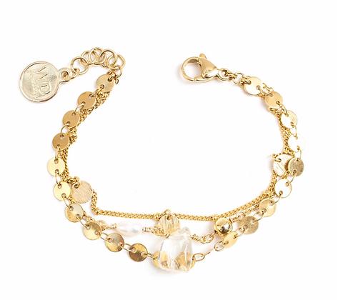 Satin bracelet