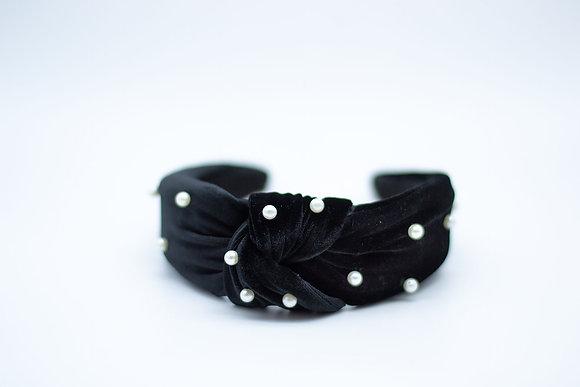 Pearl Headband-black