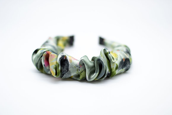 Kids Ruched Headband-willow