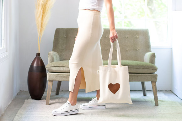 Love Tote-brown