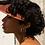 Thumbnail: Huggie earrings-silver