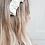 Thumbnail: Ruched Headband-white