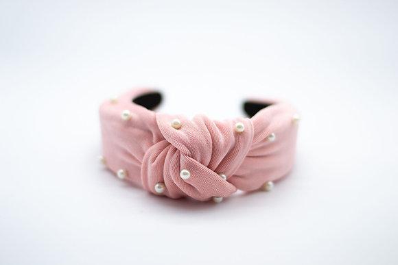 Pearl Headband-sweet pink