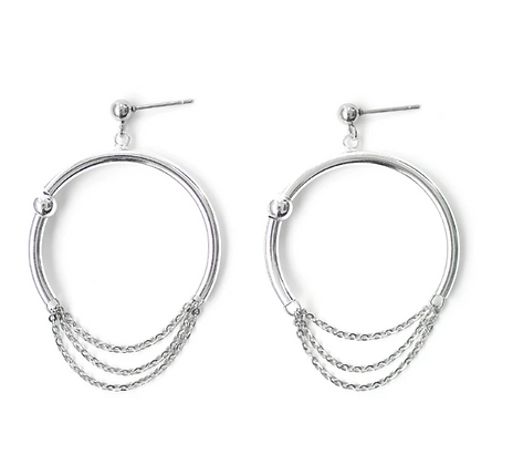 Pierce earrings-silver