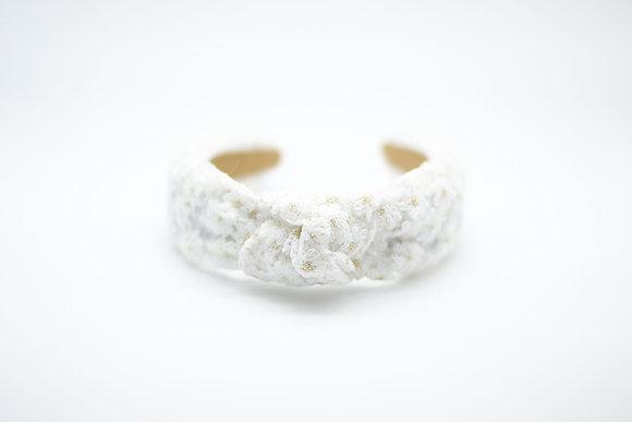 Lace Headband-white
