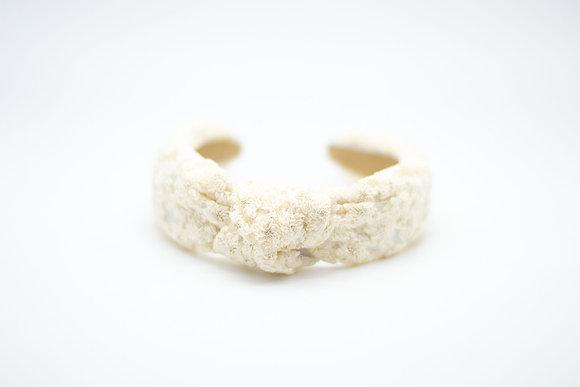 Lace Headband-nectar