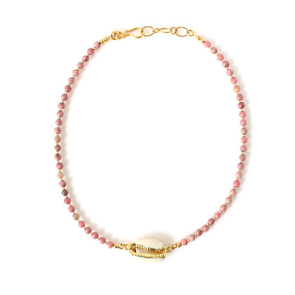 Shell Necklace-pink