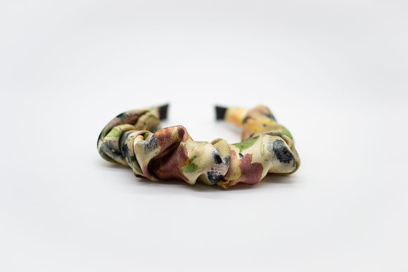 Kids Ruched Headband-buttercup