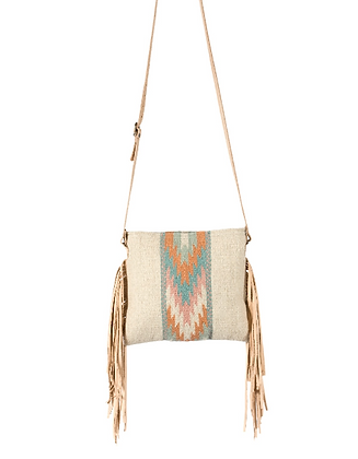 Fringe Bag-cream
