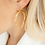 Thumbnail: Pierce earrings-gold
