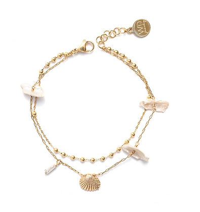 Shelly anklet