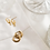 Thumbnail: Huggie earrings-gold