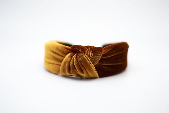 Velvet Headband-amber