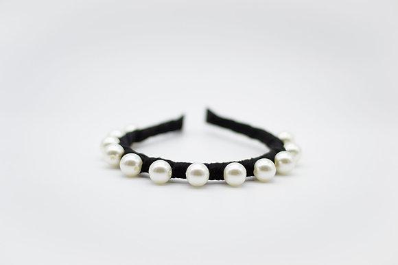 Pearl Crown-black