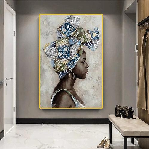 Goddess Graffiti Paintings Canvas - Frameless