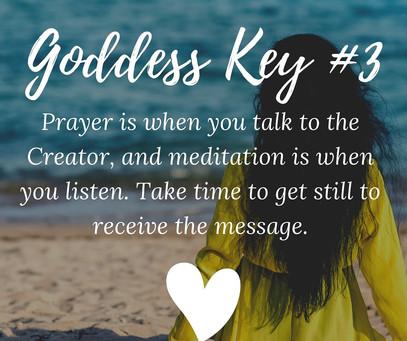 Goddess Key Lessons 3