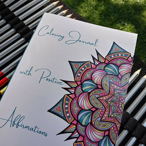 Coloring Journal With Positive Affirmations