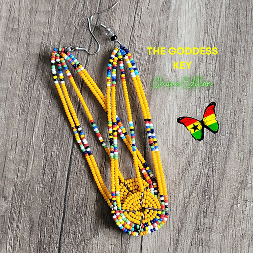 African Authentic Earrings