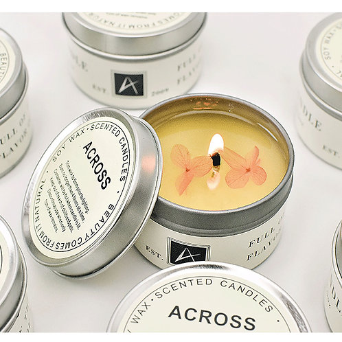 Smoke Free Scented Air Purification Aromatherapy Natural Soy Candle
