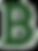 Green lette B Beelman's logo