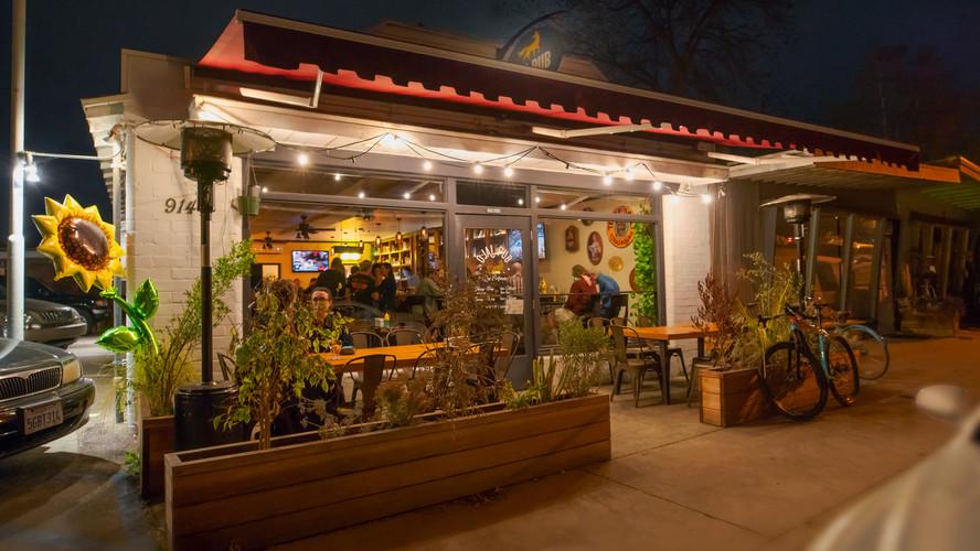 Ojai Pub at Night