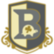 Brennan's letter B crest logo