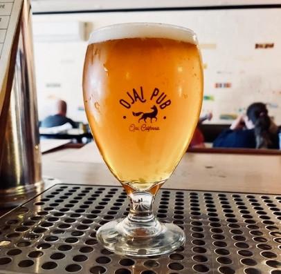 A pint of IPA at Ojai Pub
