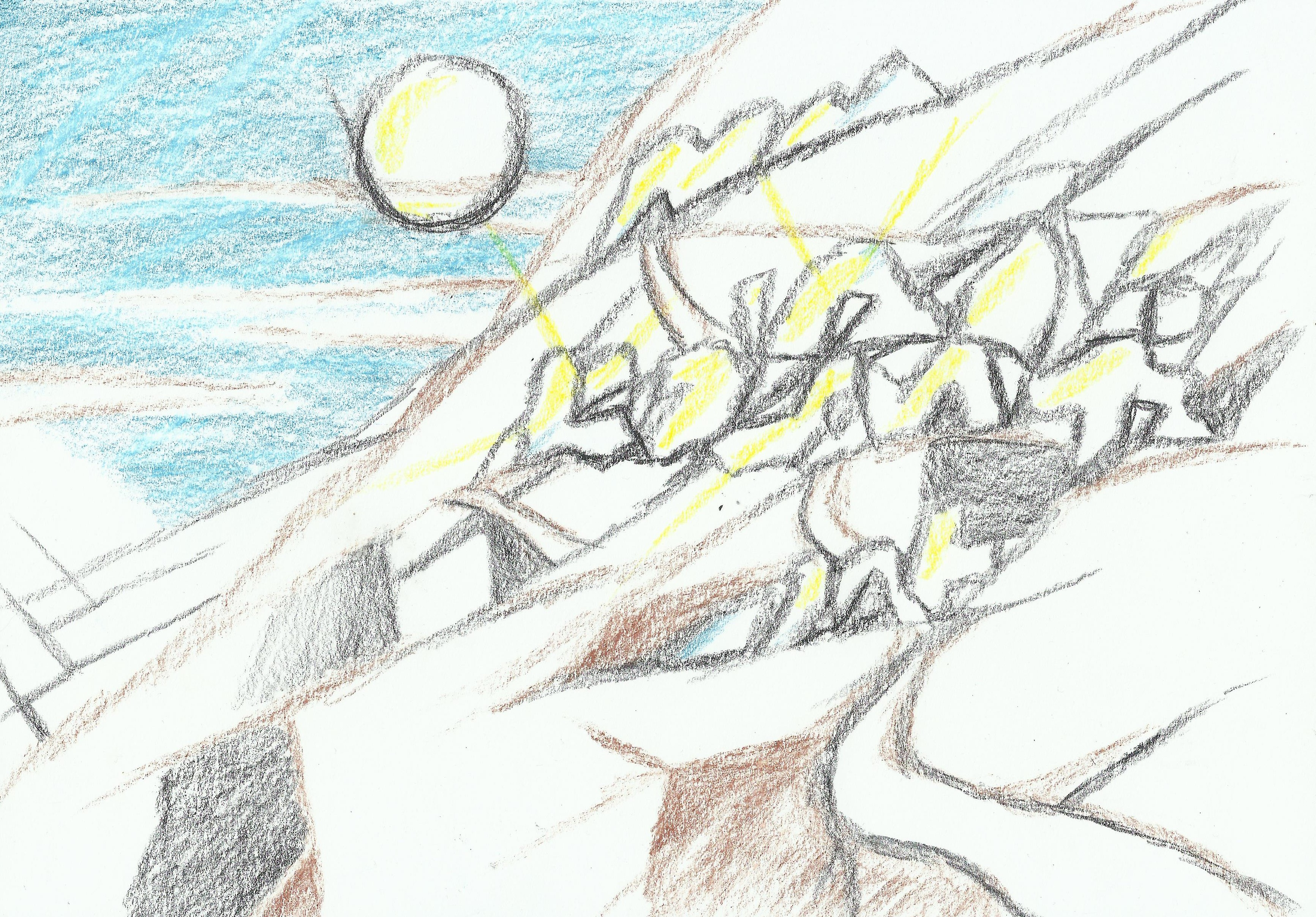 High mountain vision