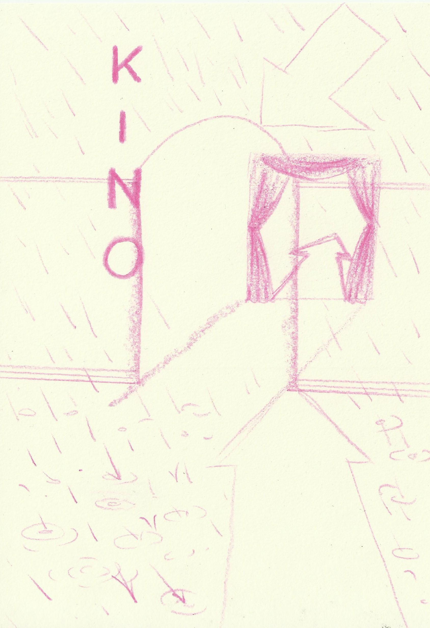 Kino on a rainy day