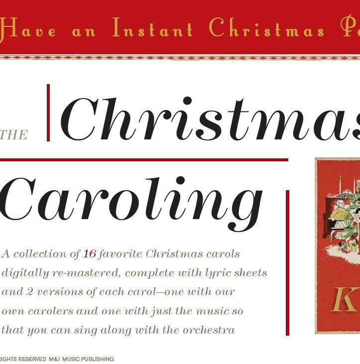 The Christmas Caroling Kit
