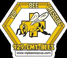 VIP Bee Rescue Logo