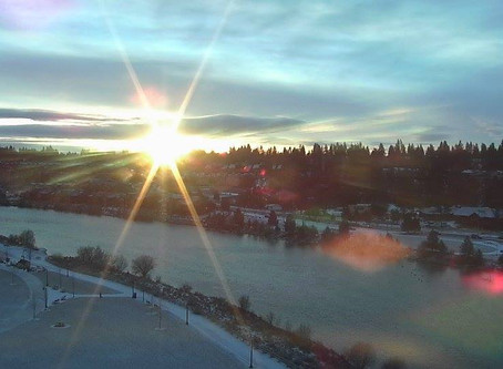 Bright day in Bend