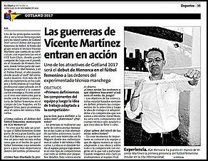 Las guerreras de Vicente Martínez entran en acción