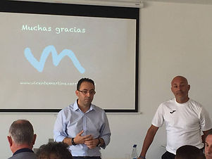 """Vicente Martínez y """" Juanito"""" impartieron una jornada teórico y práctica en Es Mercadal"""