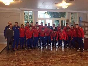 La Seleccion Española Sub-17 empata 1-1 contra la Selección Italiana