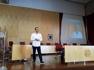 Vicente Martínez participará en la mesa redonda que tratará sobre la situación del fútbol menorquin.