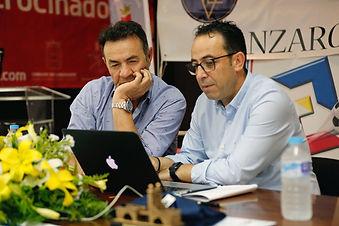 Vicente Martínez Ponente en las Jornadas Técnicas de Entrenadores de Fútbol de Ibiza y Formentera.
