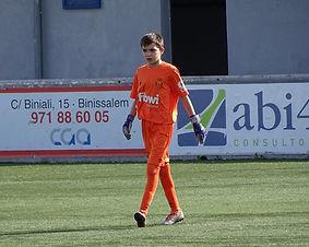 """Josep Mercadal en la """"Liga Promises"""" Nuestro joven portero ,que milita en el Mallorca, se estrenará en la competición el viernes ante el Barça."""