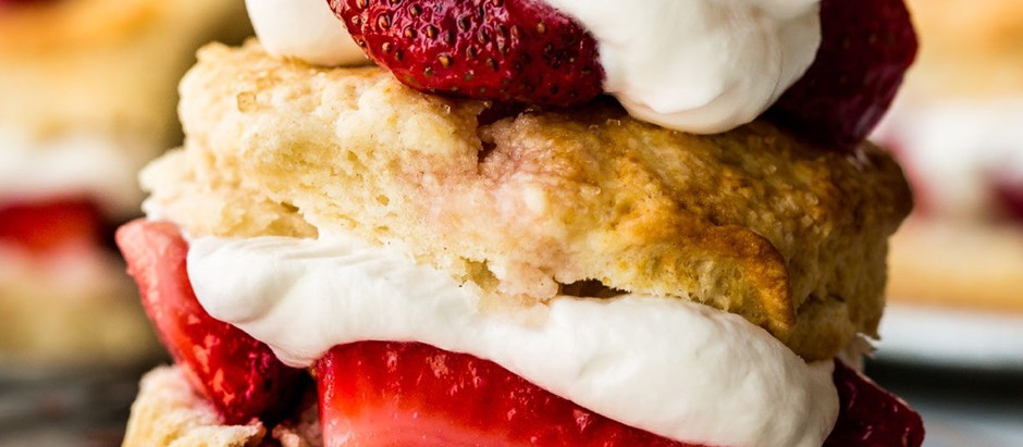 Simple Summer Dessert: Strawberry Shortcake