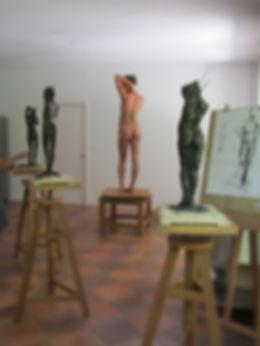 Cours modelage&dessin Laurent Baude
