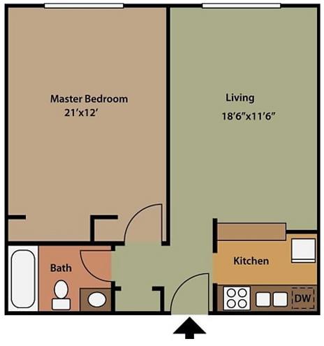 Floor Plan - 1 bedroom.png