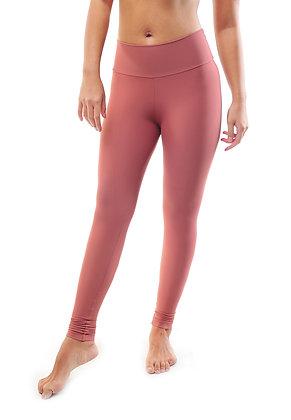 Medium Waisted Legging Solid in Melrose