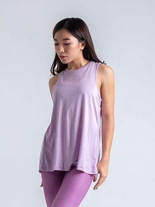 Tie It Up Tank in Lilac