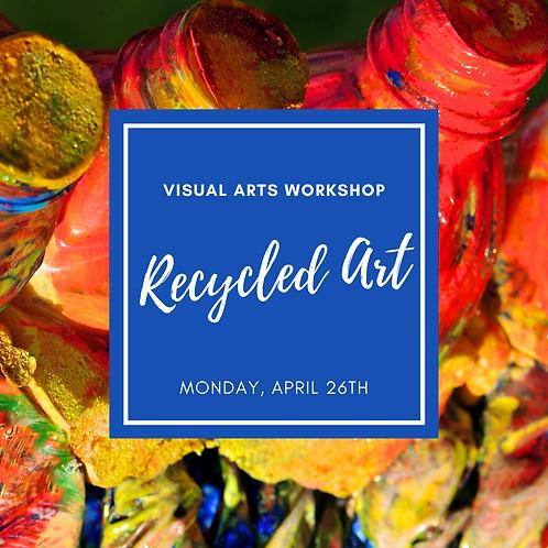 Recycled Art Visual Arts Workshop