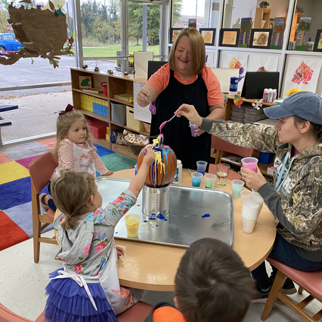 Smart Start Week 7: Finger painting and Fun times!