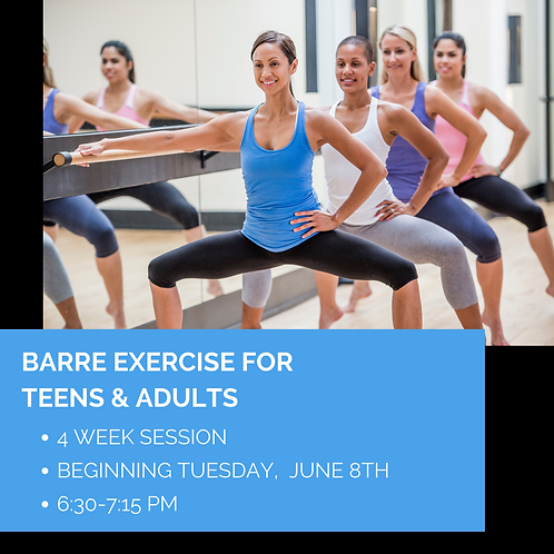 Barre Exercise: Strengthen & Stretch