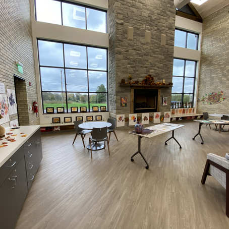Smart Start Autumn Gallery at the Russell County Public Library