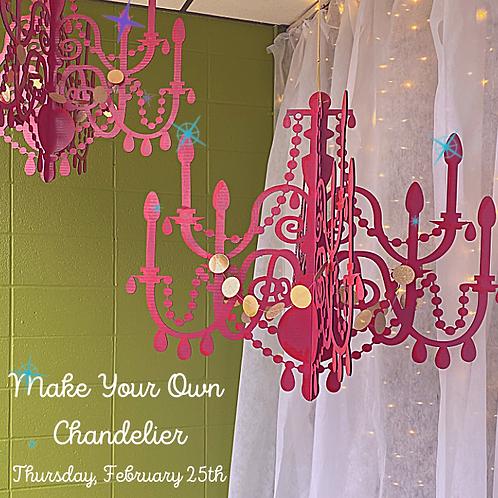 Create Your Own Chandelier Workshop