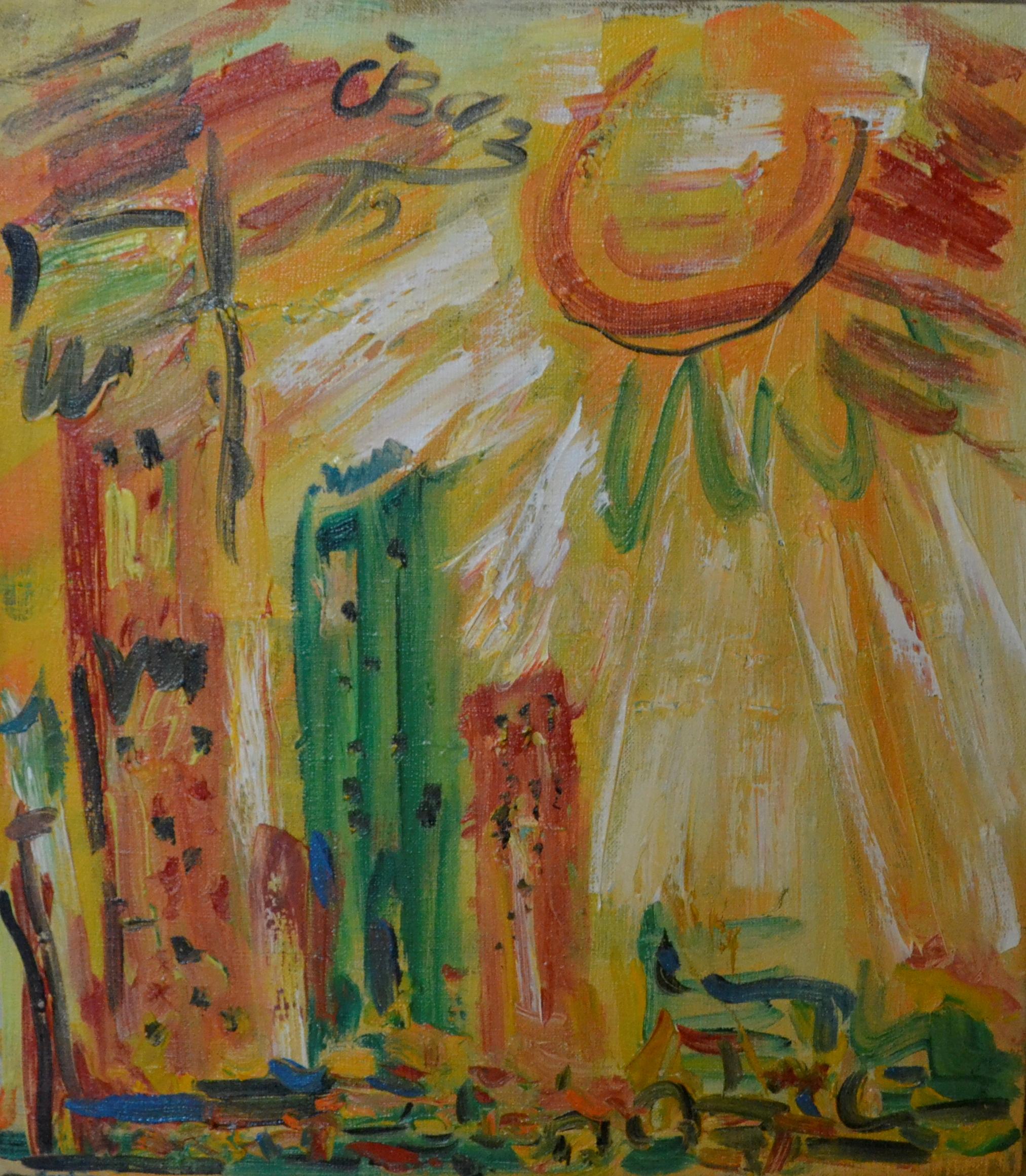 City Landscape (number 2) 45х40cm